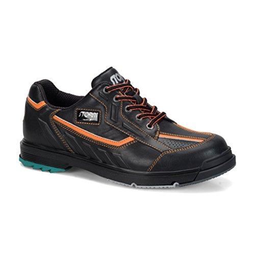 Storm SP3 Mens Bowling Shoes Black/Orange Wide, - Shoes Bowling Rubber Sole