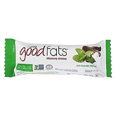 Love Good Fats - Keto Friendly Snack Bar Mint Chocolate Chip