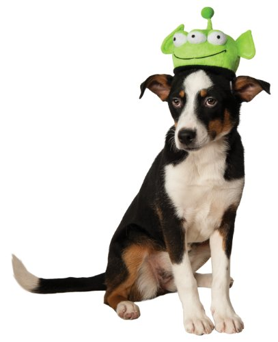 Alien Cat Costume (Rubies Costume Company Alien Headpiece for Pets, Small/Medium)