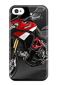 Hot New Ducati Motorcycle Case Cover For Iphone 4/4s With Perfect Design