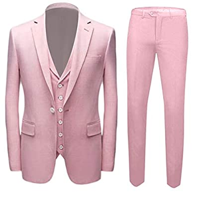 Men's New Fasion Wedding Suits Slim Fit One Button Groom Tuxedos Peak Lapel Business Suit
