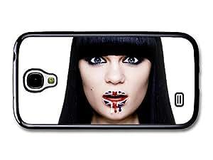 AMAF ? Accessories Jessie J British Flag Lips Surprised Portrait case for Samsung Galaxy S4