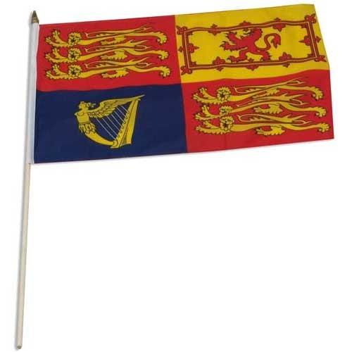 UK Royal Standard Flag 12 x 18 inch