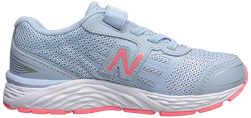 New Balance Girls' 680v5 Hook and Loop Running Shoe, air/Guava, 2 XW US Infant by New Balance (Image #7)