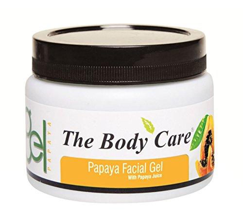 The Body Care Papaya Facial Face Gel With Papaya Juice – ...