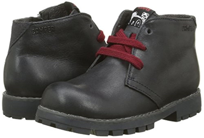 Camper Boys Compas Kids Ankle Boots, Black (Black 002), 1 UK 33 EU