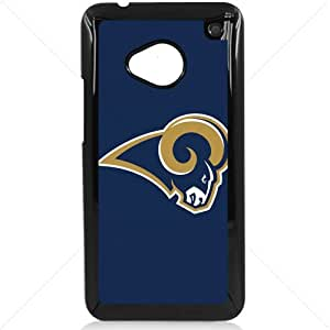 NFL American football St. Louis Rams Fans HTC One M7 Hard Plastic Black or White case (Black)