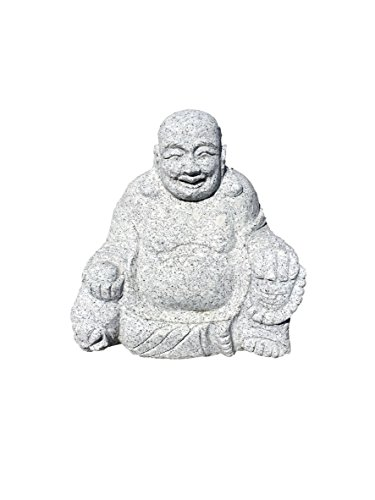 "Buddha 12"" x 12"" Hand carved , Made of Solid Granite ,Weight 85 Lbs"