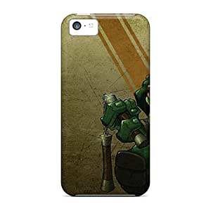 Anti-scratch And Shatterproof Ninja Turtles Phone Case For Iphone 5c/ High Quality Tpu Case