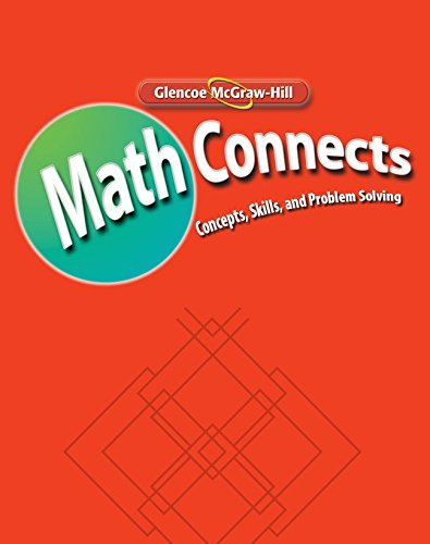 Math Connects  Concepts  Skills  And Problems Solving  Course 1  Skills Practice Workbook  Math Applic   Conn Crse