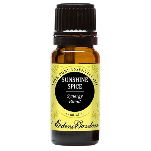 Edens Garden Sunshine Spice 10 ml Synergy Blend 100% Pure Undiluted Therapeutic Grade GC/MS Certified Essential Oil