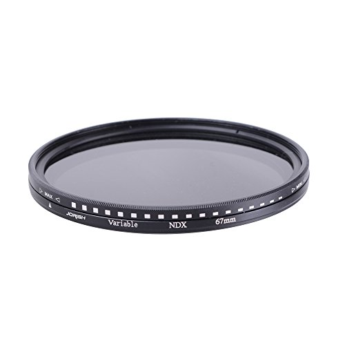 49mm Variable Neutral Density (ND) Filter ND2 to ND400 for Canon 600D EOS M M2 700D 100D 1100D 1200D 650D DSLR Cameras by JORISH