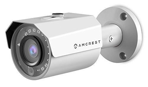 Title Amcrest 4MP POE IP Camera UltraHD Outdoor Security Camera Bullet – IP67 Weatherproof, 4-Megapixel (2688 TVL), 98ft Night Vision, Surveillance Camera, IP4M-1024E (White)