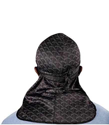 - Customs - Designer Durag (Black Go)