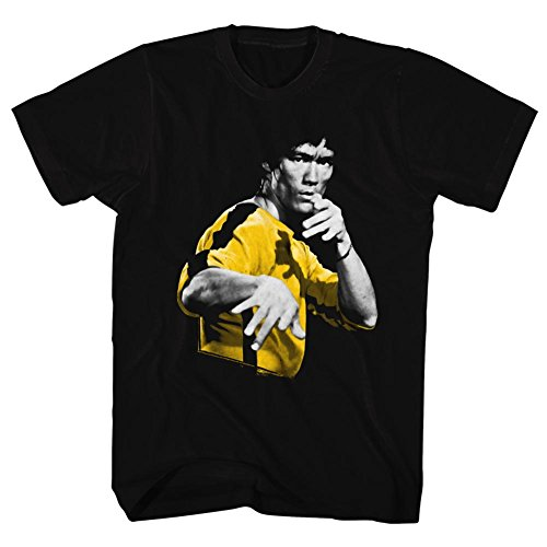 Bruce Lee - Mens Hooowah T-Shirt, X-Large, Black