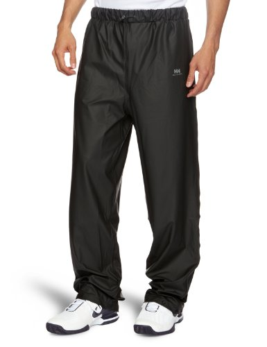 Helly Hansen Men's Voss Windproof Waterproof Rain Pant, 990 Black, Medium