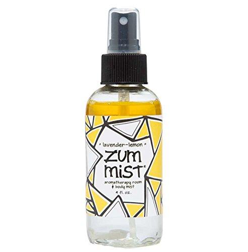 Indigo Wild Zum Mist Room Body Spray Lavender & Lemon, Clear, (Indigo Wild Zum Mist Lavender Lemon)