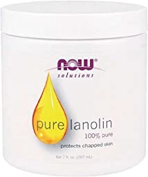 Now Foods Lanolin Pure, 7 Ounce