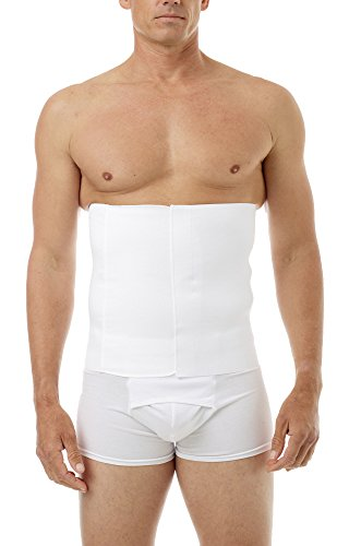 Underworks 12-Inch Belly Buster, Hernia Belt, Back Support with Hook and Loop Closure, 2X