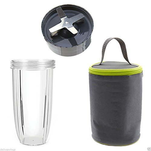 NutriBullet Extractor Blade 600W 900W + 32oz Colossal Cup...