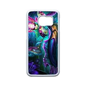 Generic for Samsung Galaxy S6 Edge Cell Phone Case White Nami Custom HHGKAOJFD1891