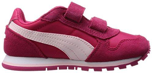 Puma PumaST Runner NL V Inf - Zapatillas Niños-Niñas Rosa - Pink (rose red-pink dogwood 10)