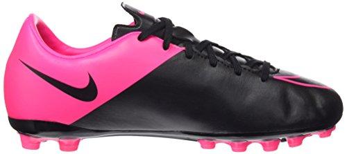 Nike Jr Mercurial Victory V AG - Zapatillas de Deporte, Niñas Rosa / Negro(Black/Black/Hyper Pink/Hyper Pink)