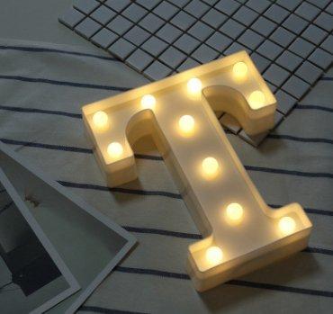 Bugou - Letra de luz LED con mando a distancia (plástico ...