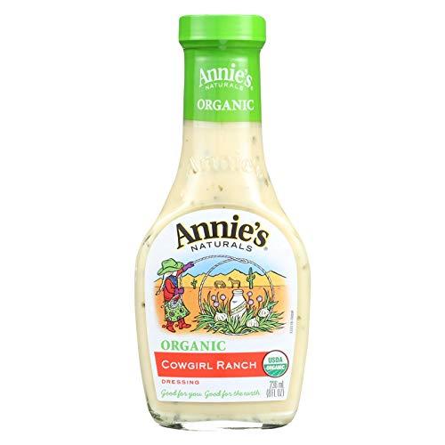 - Annie's Naturals Organic Dressing Cowgirl Ranch - Case of 6 - 8 fl oz.