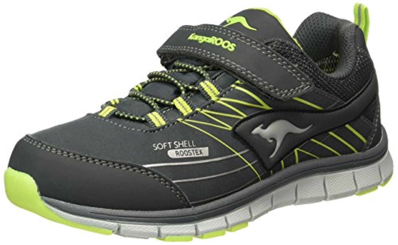 KangaROOS Unisex Kids' Chupit Low-Top Sneakers Black Size: 1