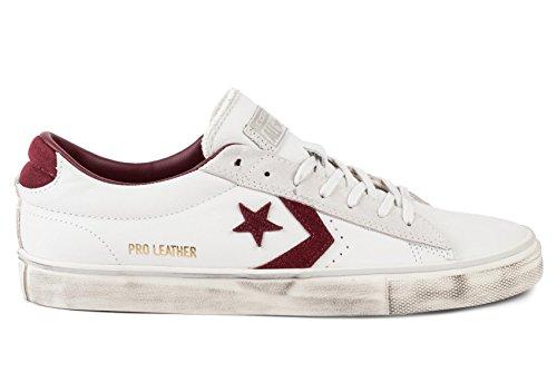 CONVERSE scarpe SNEAKER UOMO 159028C LEATHER WHITE AI17