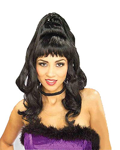 Forum Novelties Women's Brigitte Wig, Black, One Size