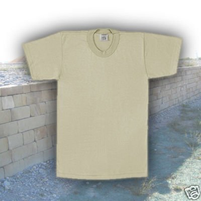 3 PACK - Desert Tan   Sand Military T-Shirt f6ad7d779a7