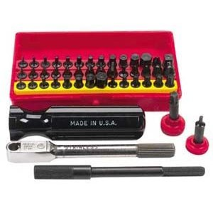 Wadsworth Ratchet Set Mini Super Deluxe 52 pc w/4 Tools