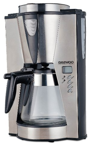 Daewoo DCM1875 1000 Watt 12 Cup Coffee