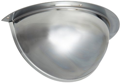 See All PVS18-180 Mr. Steely Panaramic Full Dome Steel Security Mirror, 180 Degree Viewing Angle, 18