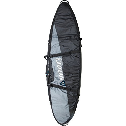 Komunity Project Triple/Quad Lightweight Traveler Board Bag - 7' Grey/Black - Surfboard Bag by Komunity Project