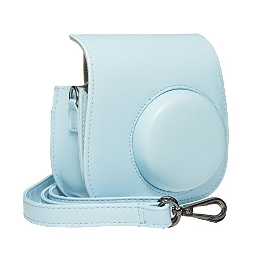 Blummy PU Leather Instax Mini 9 Camera Case for Fujifilm Ins