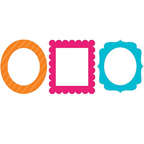 3-Piece Photo Prop Frames, Bright Colors ()