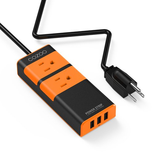 Review COZOO Travel Power Strip
