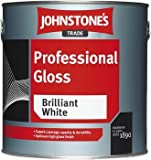 1LTR - JOHNSTONES TRADE PROFESSIONAL GLOSS BLACK by Johnstone's