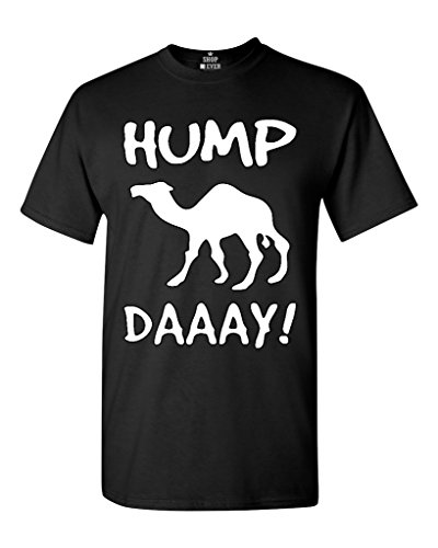 Camel Commercial HUMP DAY T-shirt Funny Shirts X-Large Black