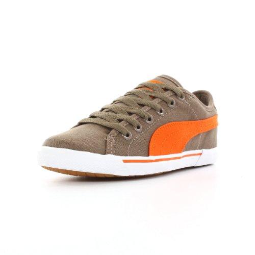 Puma Benecio Canvas Junior Kinder Freizeit Sneaker Khaki