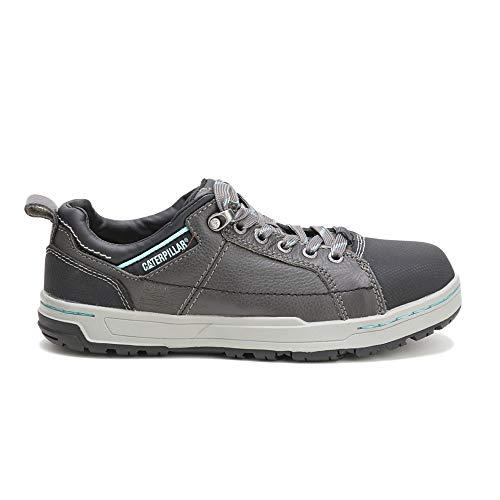 2013 Caterpillar - Caterpillar Women's Womens Brode Steel Toe Work Shoe (11 W in Dark Grey/Mint)