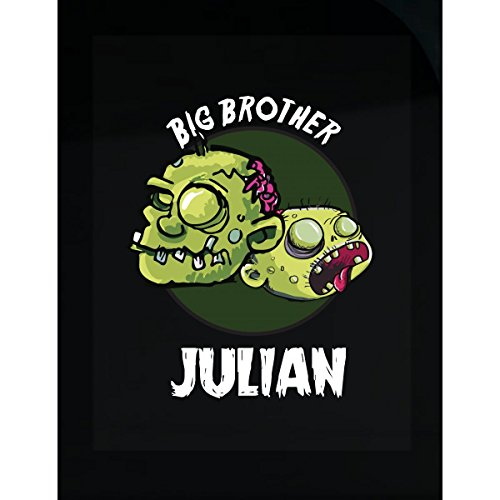 Prints Express Halloween Costume Julian Big Brother Funny Boys Personalized Gift - Sticker -