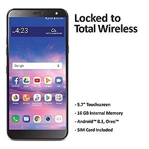 Total Wireless LG Solo 4G LTE prepago Smartphone (cerrado) – Negro ...
