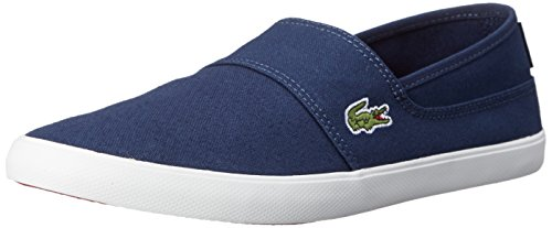 Lacoste Mens Marice LCR Fashion Sneaker Dark BlueDark Blue 8.5 M US
