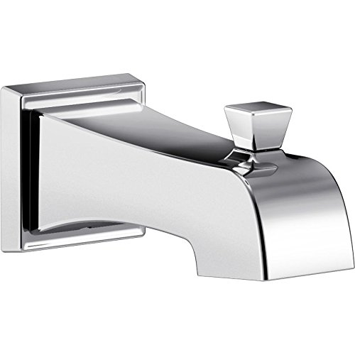 Delta RP77091 Ashlyn Wall Mounted Diverter Tub Spout, Stainless Steel