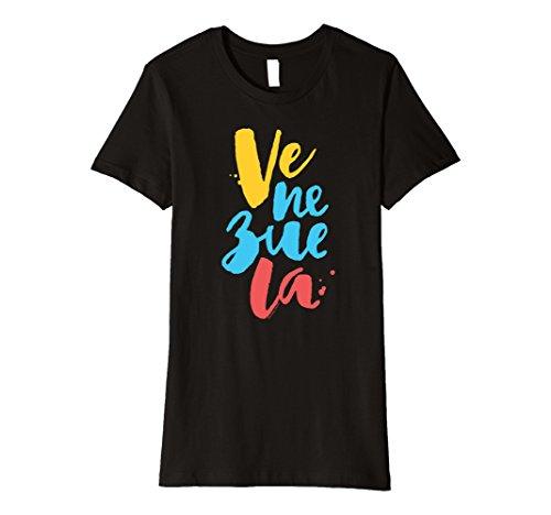Women's Venezuela T-shirt, franela, camiseta, vinotinto S...