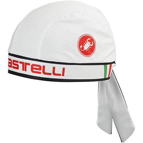 Castelli Bandana White, One - Manufacturers Italian Sunglasses